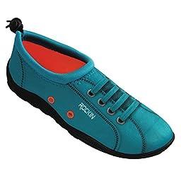 Rockin Footwear Womens Aqua Foot \