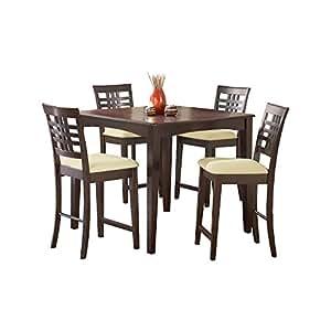 Amazon.com - Tiburon Counter-Height Dining Table Set -
