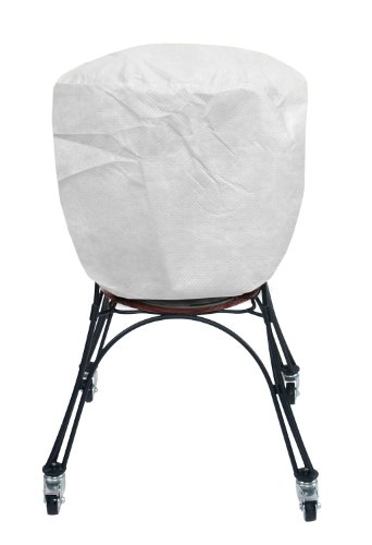 KoverRoos SupraRoos 53056 Supersize Smoker Cover, 30-Inch Diameter by 57-Inch Height, White
