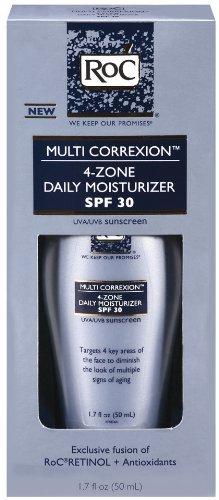 RoC Multi-Correxion 4-Zone Daily Moisturizer, SPF 30, 1.7 Ounce