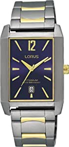 Lorus -LORUS RXD61DX8 -Montre Homme Quartz Analogique - Bracelet Titane Multicolore
