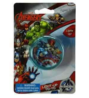 Marvel Avengers Light Up YoYo [8 Retail Unit(s) Pack] - 25409AVG