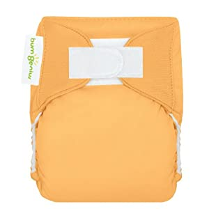 bumGenius Newborn Cloth Diaper - Clementine