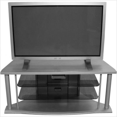 Cheap Altra 37196 LCD/DLP/Plasma TV Stand, 48-Inch, Silver (B004CVKXA0)