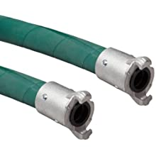 Goodyear EP Plicord Blast Green Rubber Sand Blasting Hose Assembly, Quick Connect Couplings