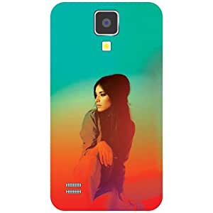 Samsung I9500 Galaxy S4 Thinking Of Me Matte Finish Phone Cover