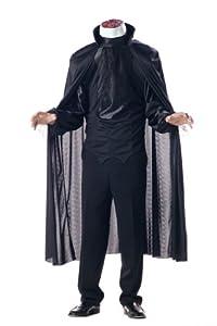 Men'S Headless Horseman Horror Costume (Black;Small)