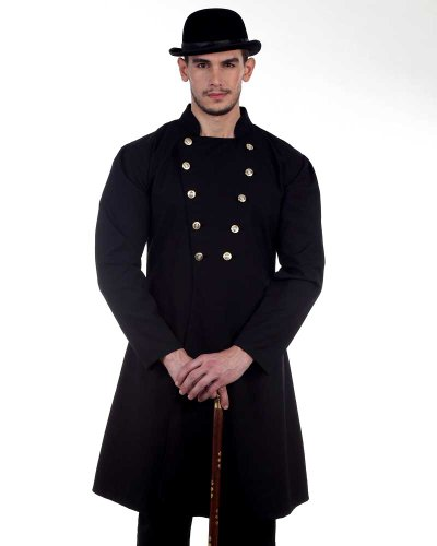 Steampunk Victorian Costume Gentleman's Coat