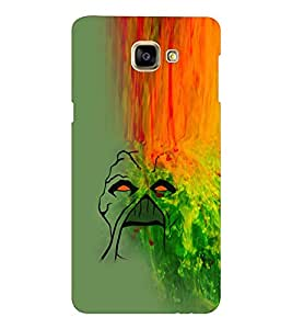 EPICCASE Scary Falls Mobile Back Case Cover For Samsung Galaxy A9 (Designer Case)