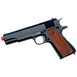 UTG Sport Airsoft 1911 Pistol, Heavy Weight, Black