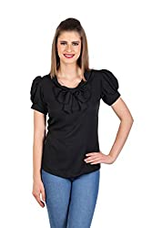 Eyelets Roll-up Sleeve Top