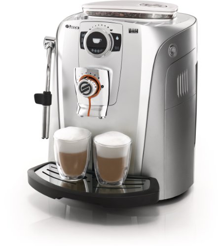 Philips Saeco RI9822/47 Talea Giro Plus Automatic Espresso Machine, Silver and Titanium