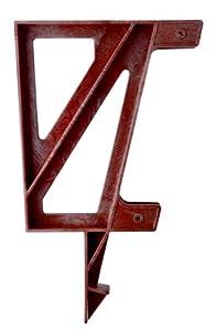 2x4basics 90176 Dekmate Bench Bracket, Redwood - 2 Pack