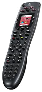 Logitech 915-000162 Harmony 700 Rechargeable Remote with Color Screen (Black) [Discontinued by Manufacturer]