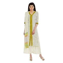 Pinkshink Pure Cotton Green Salwar Kameez Dress Material Fabric 114