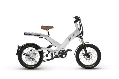 A2B Light Metro Brushed Aluminum Electric Road Sport Bike Vehicle Motor Bicycle