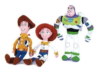 Disney Toy Story 3 Plush Set Woody, Buzz and Jess