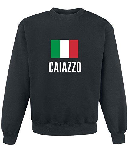Felpa Caiazzo city Black