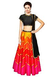 Kmozi Latest Designer Printed Lengha Choli