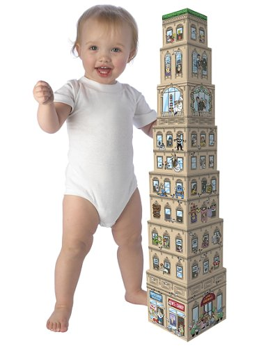 Attack of the 50 ft. Baby Stacking Blocks