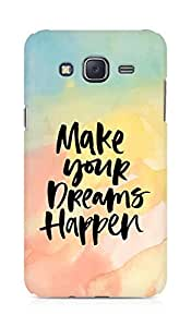 AMEZ make your dreams happen Back Cover For Samsung Galaxy J5
