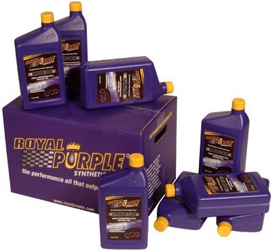 Royal Purple 12520 API-Licensed SAE 5W-20 High Performance Synthetic Motor Oil - Pack of 12