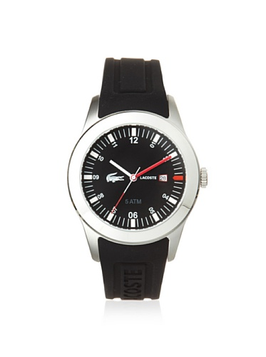 Lacoste 2010628 Black Strap & Dial Men's Watch