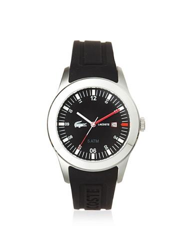 Lacoste 2010628 Black Strap & Dial Men's Watch