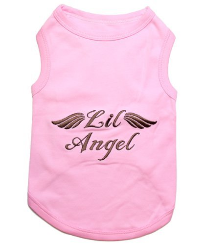 Parisian Pet Lil Angel Dog T-Shirt, Small, Pink