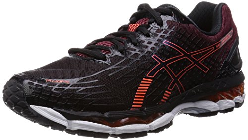 [ASICs] ASICS GEL-NIMBUS 17 TJG706 9030 (black / hot Orange /26.0)