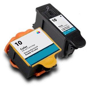 1 Set Kodak 10 Schwarz & Farbe Kompatibel Druckerpatronen für ESP 5210 Drucker