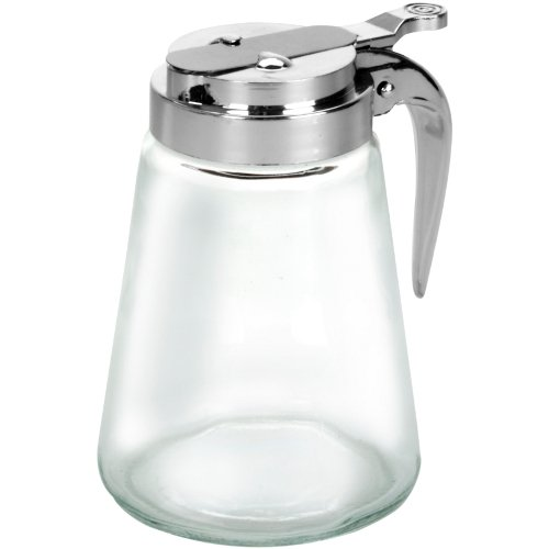 Anchor Hocking Glass Syrup Pitcher with Dispensing Lid (Syrup Dispenser Microwave compare prices)
