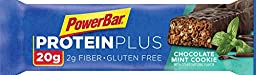 PowerBar 20g Protein Plus Bars, Chocolate Mint, 2.29 Ounce (Pack of 15)
