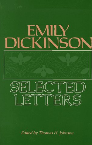Emily Dickinson: Selected Letters, EMILY DICKINSON