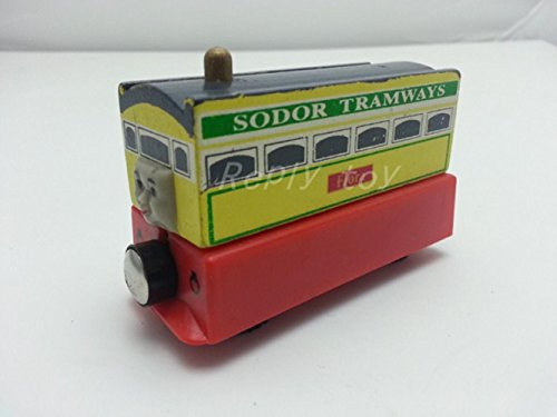 house-diy-thomas-friends-flora-tram-magnetic-wooden-toy-train-loosefor-gifts