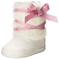 Juicy Couture Baby Baby-Girls Newborn Snow Boots Angel 9-12 Months