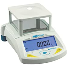 Adam Equipment PGW 753e Precision Balance, Removable Draft Shield,18 Weighing Units, 750g Capacity, 0.001g Readability