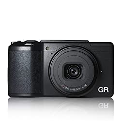 Ricoh GRII 16.2MP Point and Shoot Digital Camera (Black)