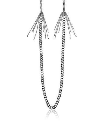 Dyrberg/Kern Cadena Chainel Shiny Silver Plateado