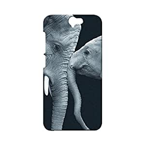 BLUEDIO Designer Printed Back case cover for HTC One A9 - G6200