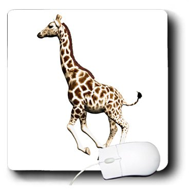 Boehm Graphics Animal - Giraffe Running 2 - MousePad (mp_62976_1)