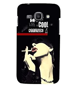 PrintVisa Quotes & Messages Attitude 3D Hard Polycarbonate Designer Back Case Cover for Samsung Galaxy Core i8262