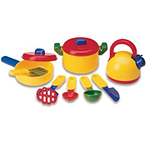 Cooking set toys games for Art cuisine evolution 10 piece cooking set
