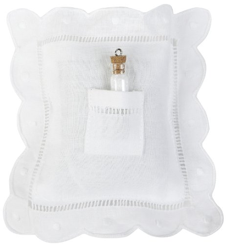Child to Cherish Tooth Fairy-Pillow with Fairy Dust, White