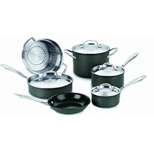 Cuisinart GreenGourmet Hard Anodized 10 piece Set