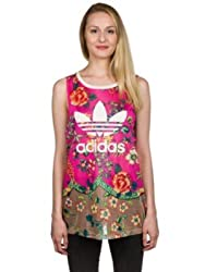 adidas Originals Women's Body Blouse Top (AJ8137_Multicolor_36)