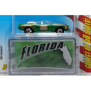 Hot Wheels Connect Cars 1969 Camaro Florida - 1