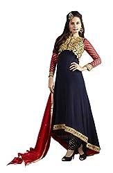 Surbhi Fashion-SDVI-JESSIE10734-Designer Semi Stitched Dress Material