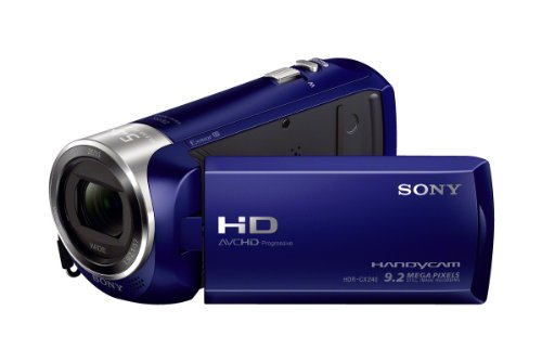 Sony Hdrcx240/L Video Camera With 2.7-Inch Lcd (Blue)