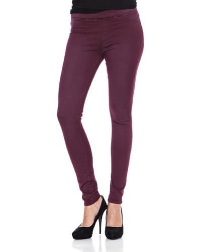 Heartless Jeans Legging Mina Leggin Pantalon Heartlesscherry Burgundy Burdeos
